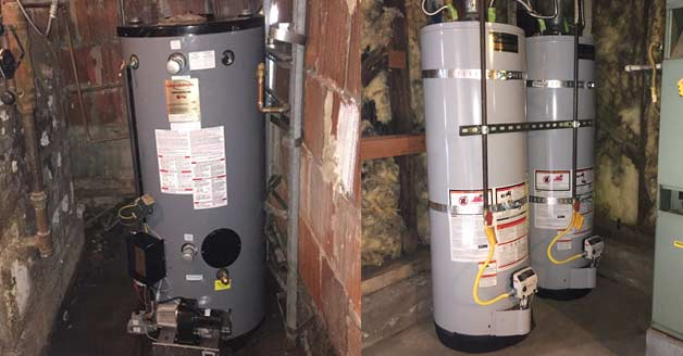 hot water heater problem solving